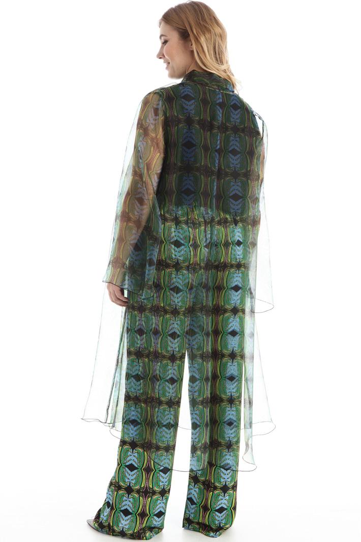 Organza duster coat Intrend