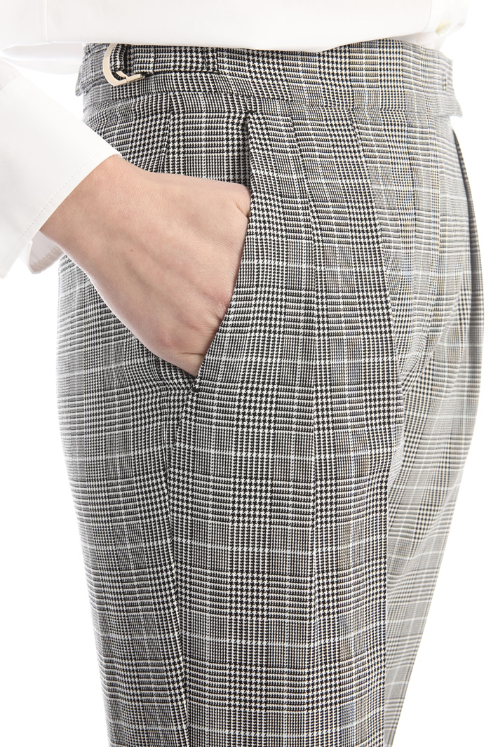 Cotton crepe trousers Intrend