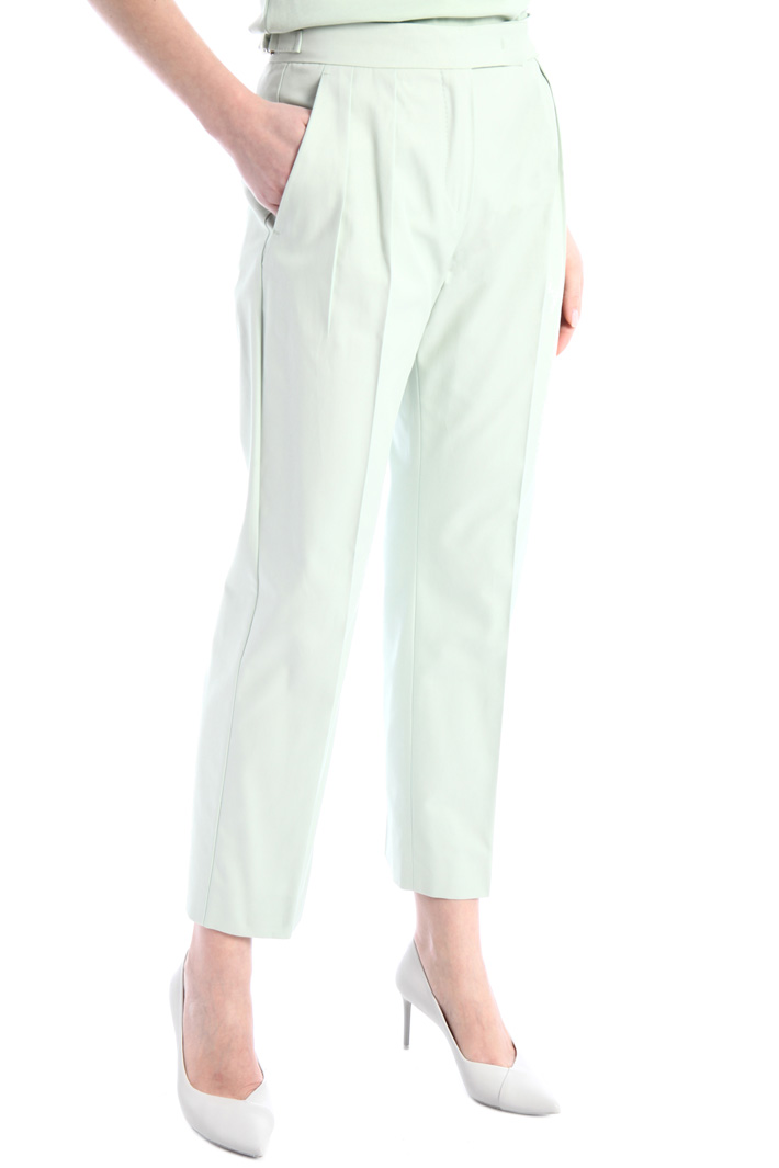 Cotton twill trousers Intrend