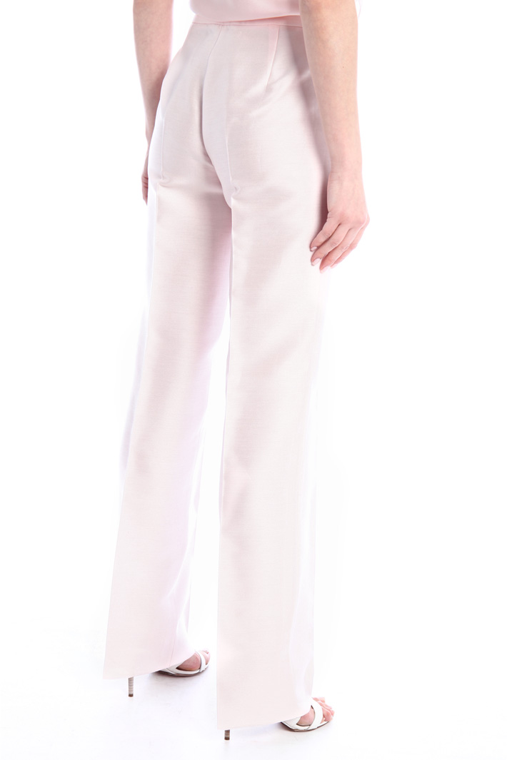 Shantung trousers Intrend