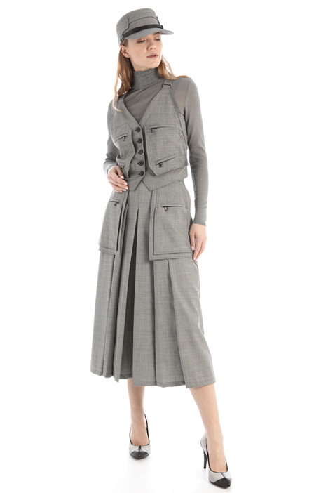 Wool culottes Intrend