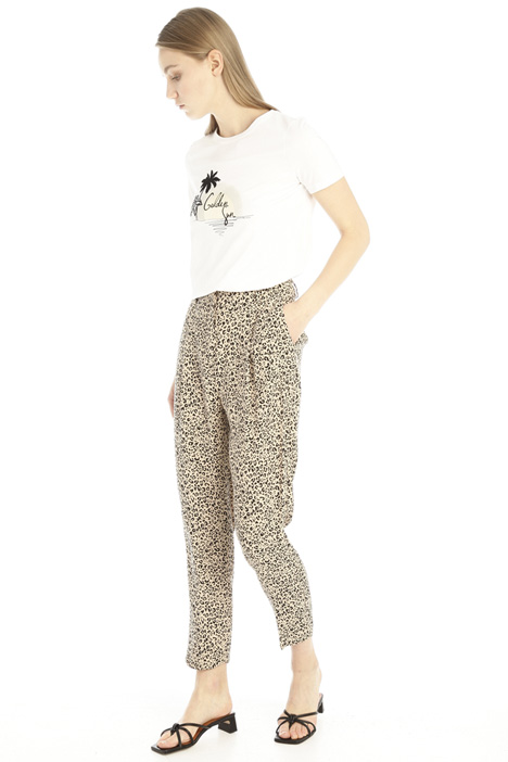 Carrot fit sablé trousers Intrend