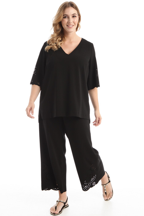 Palazzo trousers in cady Intrend