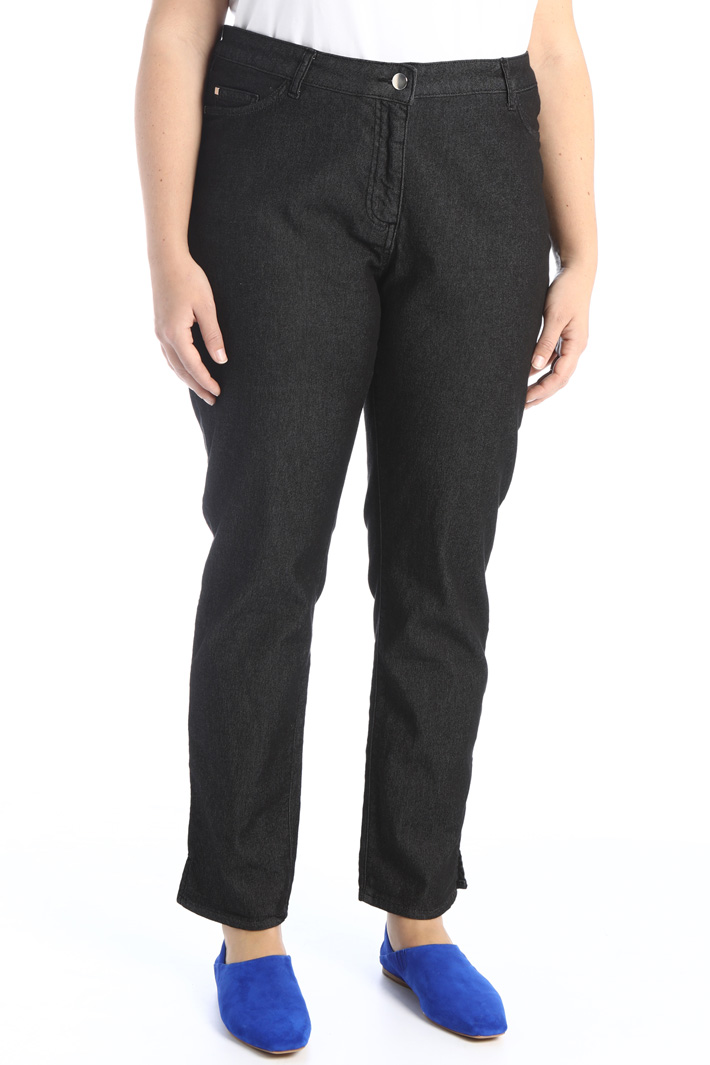 Stretch cotton trousers Intrend
