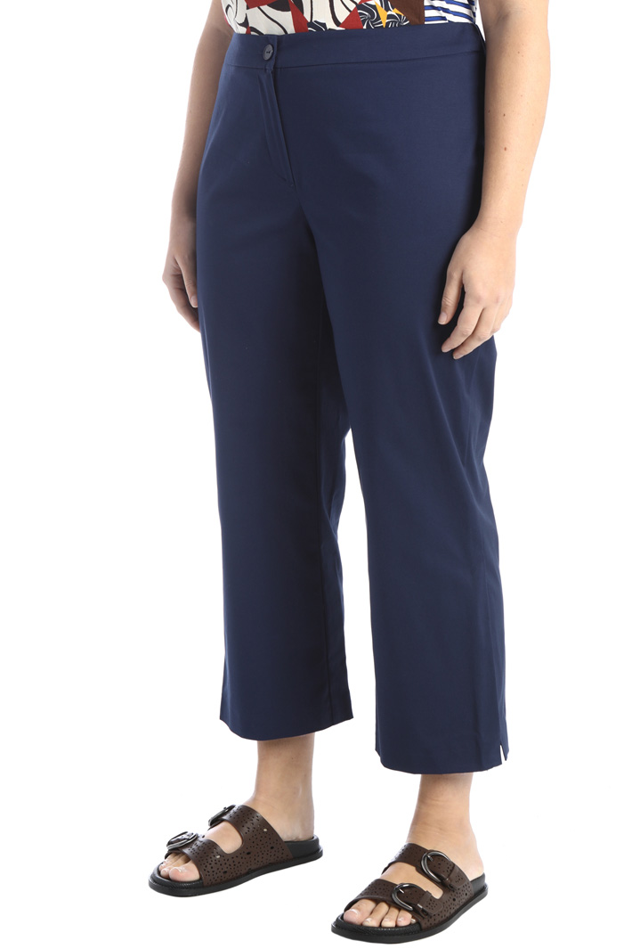 Trousers with slits Intrend