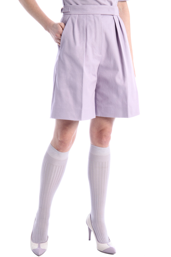 Bull cotton Bermuda shorts Intrend