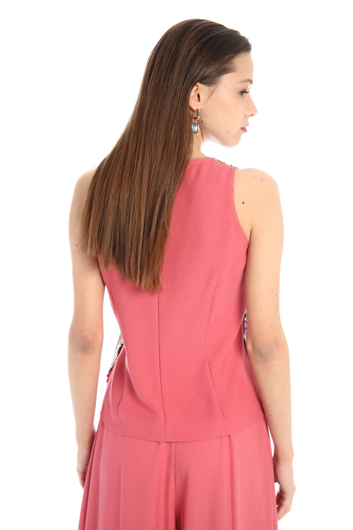 Sequinned top Intrend