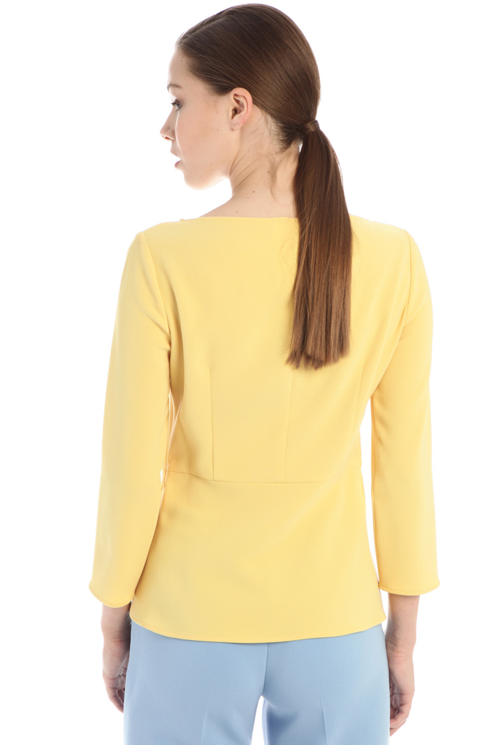 Slim fit cady blouse Intrend