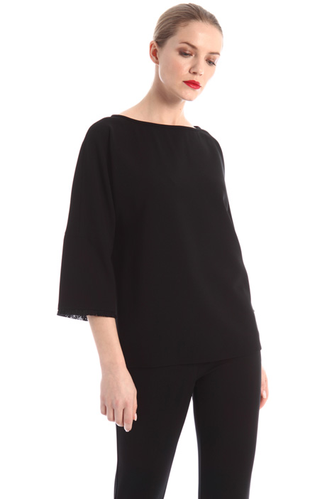 Fringed cady tunic Intrend