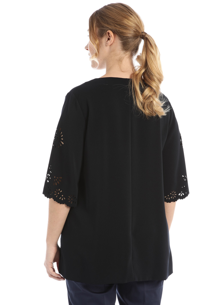 Tunic in mesh cady Intrend
