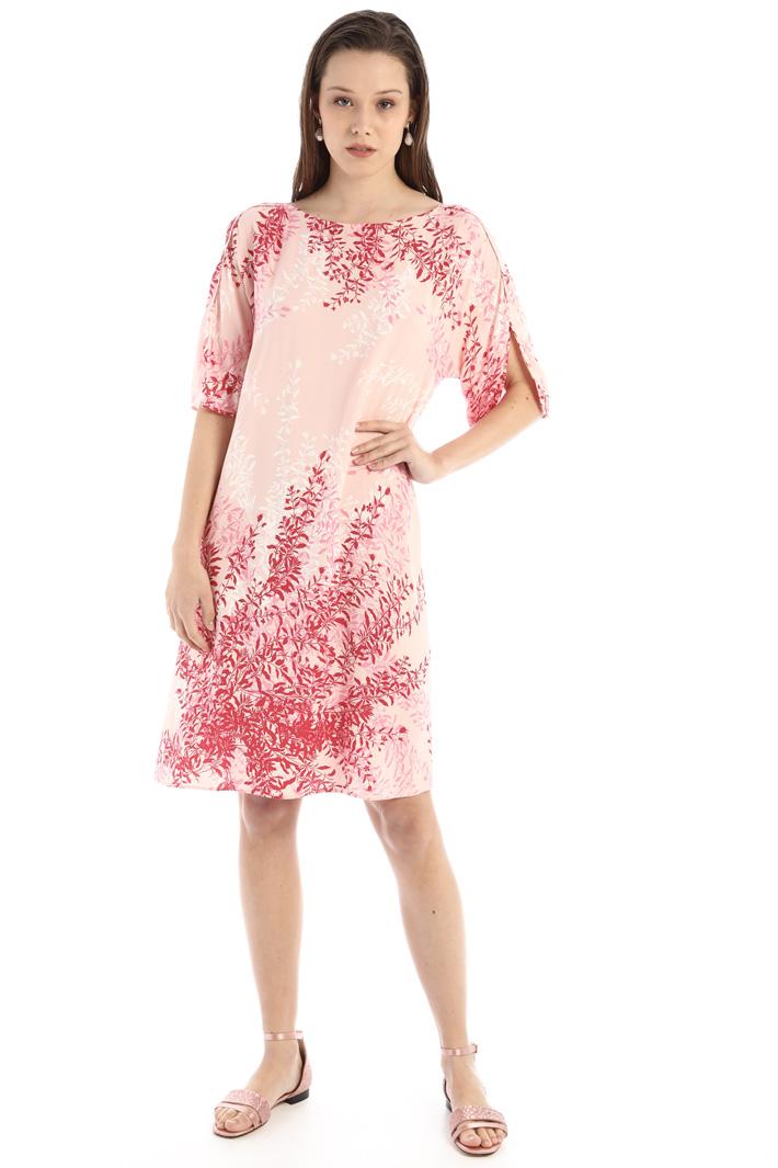 Printed sablé dress Intrend