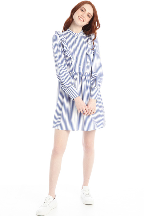 Frilled chemisier dress Intrend