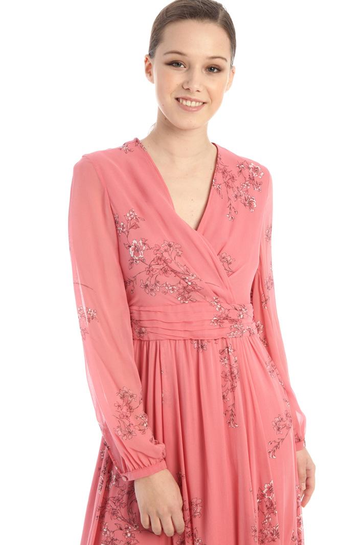 Long draped dress Intrend