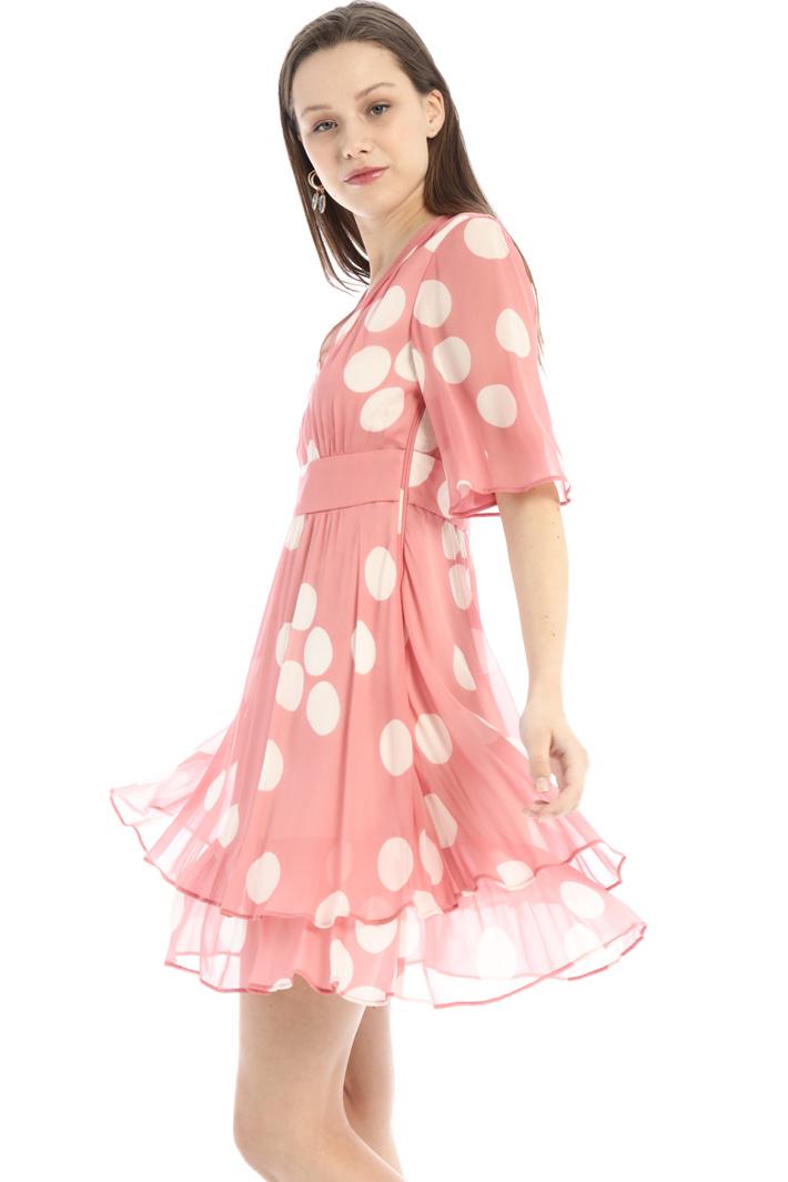 Short flounced dress Intrend