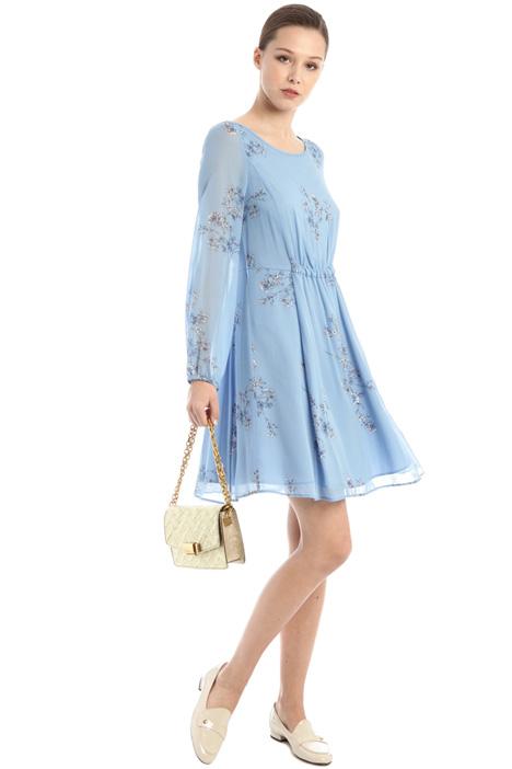 Printed georgette dress Intrend