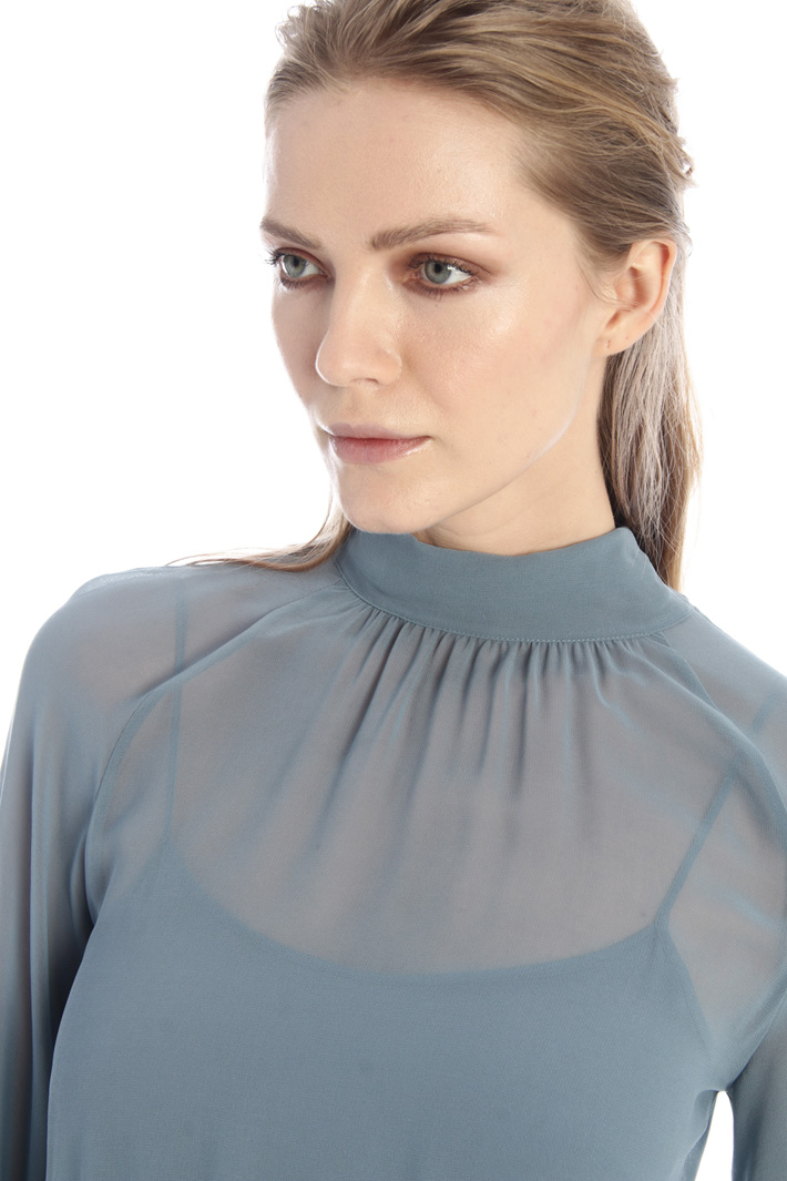 Georgette sablé dress Intrend