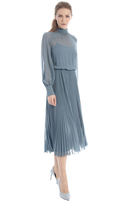 Georgette sablé dress Intrend