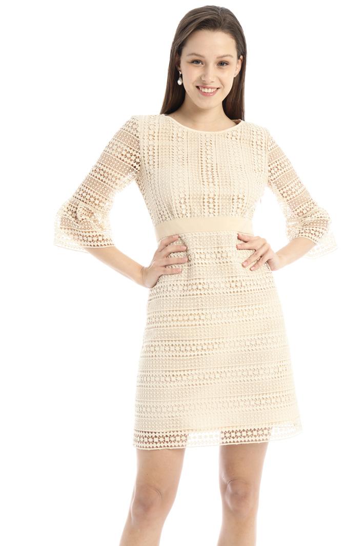 Macramé lace dress Intrend