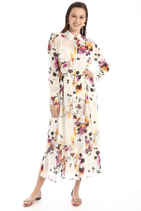 Long chiffon dress Intrend