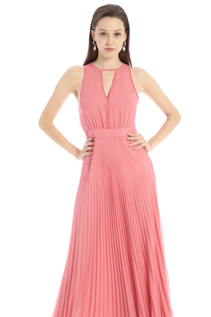 Long pleated dress Intrend