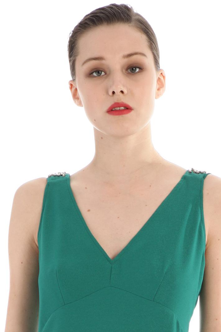 Jewel-embellished dress Intrend