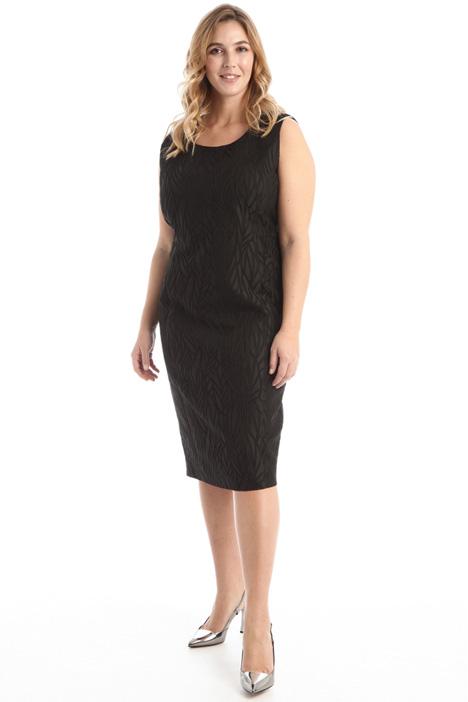 Slim fit jacquard dress Intrend
