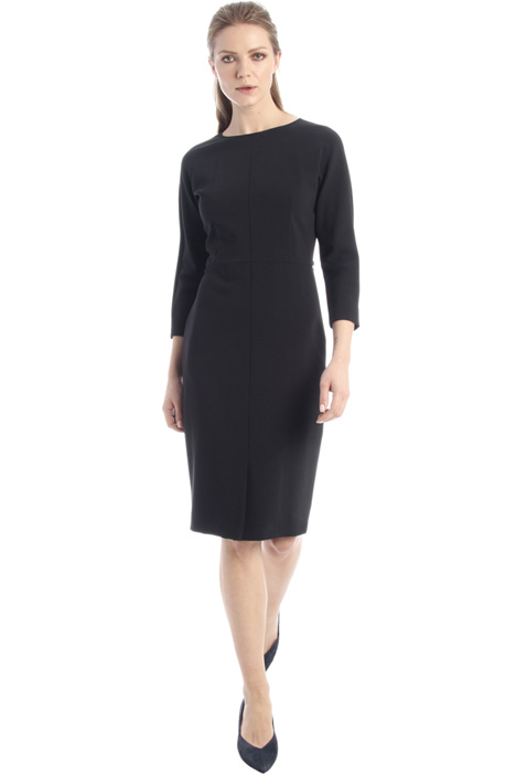 Wool crepe dress Intrend