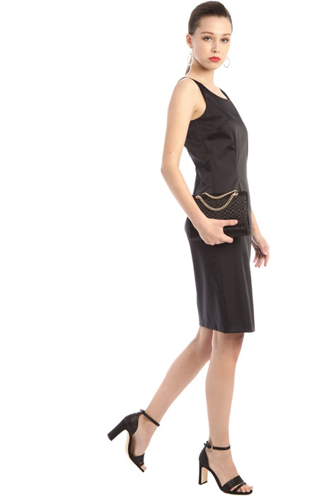 Stretch satin dress Intrend