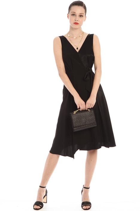 Midi wrap-up dress Intrend