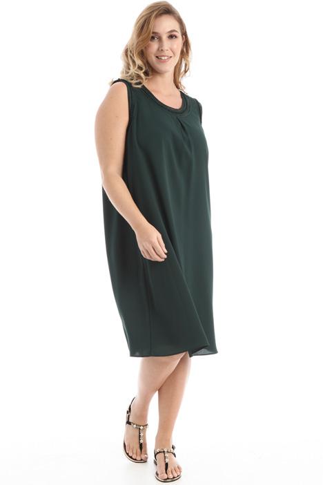 Flowing crepe dress Intrend