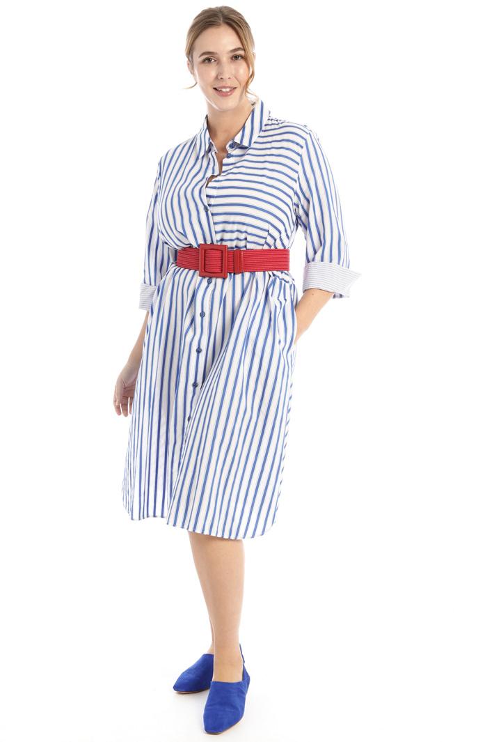 Striped shirt dress Intrend