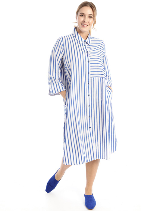 Striped shirt dress Intrend
