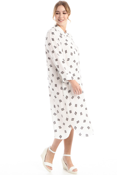 Printed chemisier dress Intrend