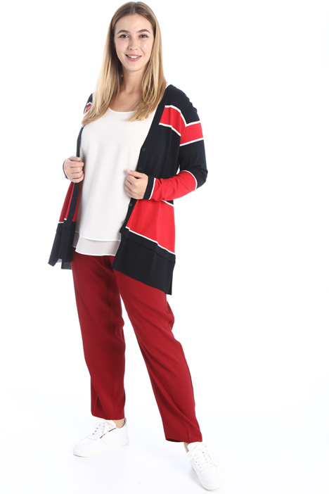 Colour-block cardigan Intrend