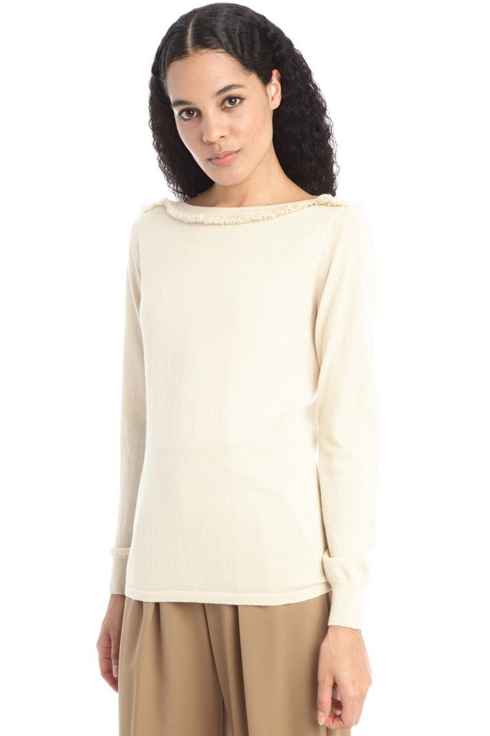 Silk an cashmere sweater Intrend