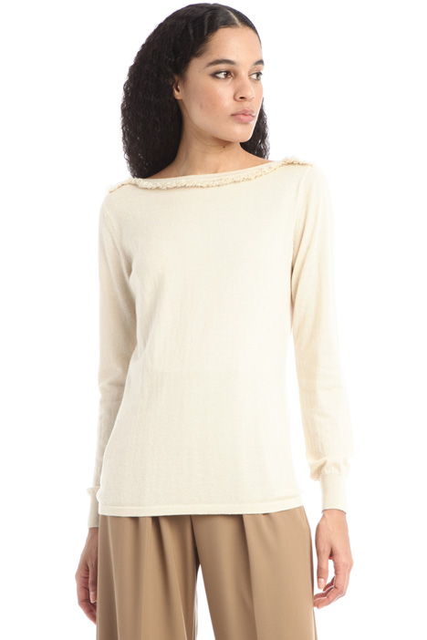 Silk an cashmere sweater Intrend