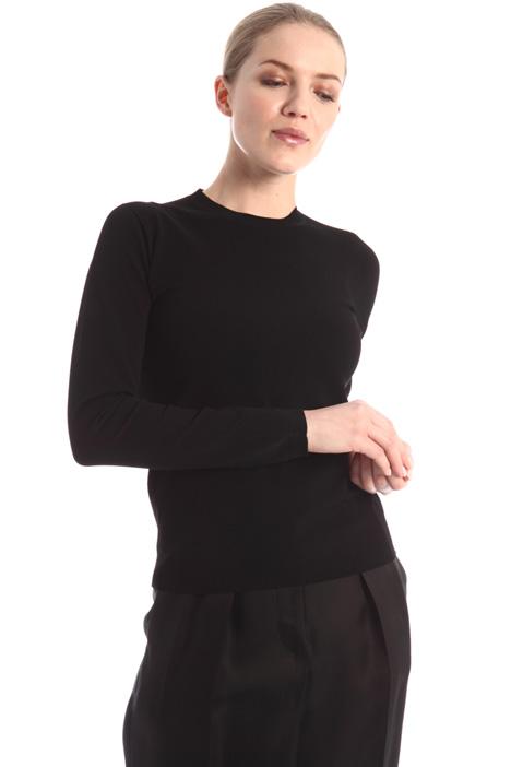 Viscose knit sweater Intrend