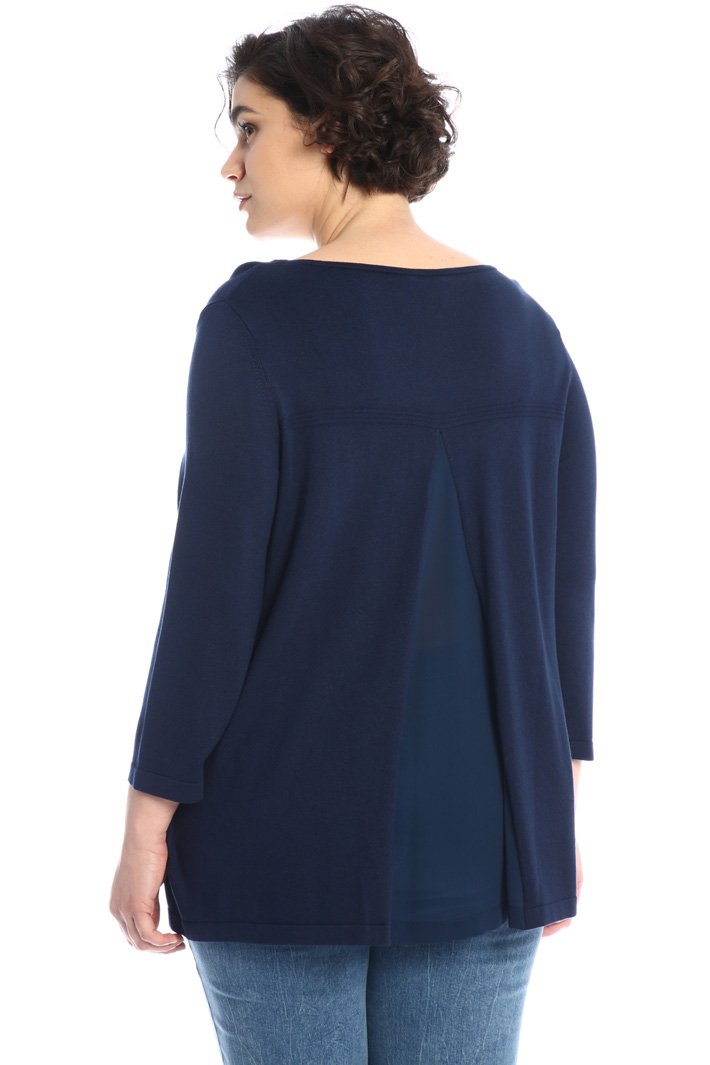 Silk blend sweater Intrend