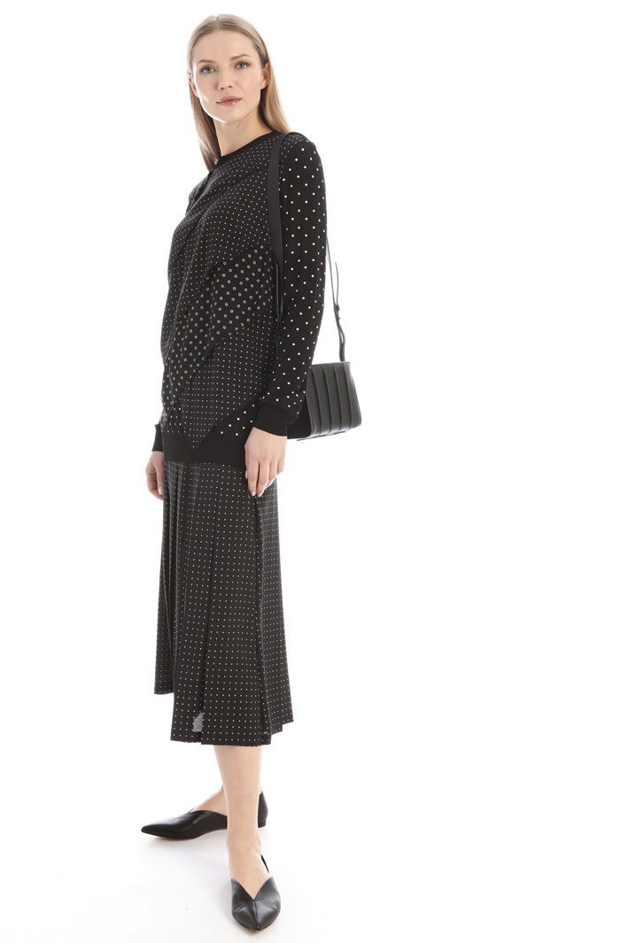 Viscose and silk sweater Intrend