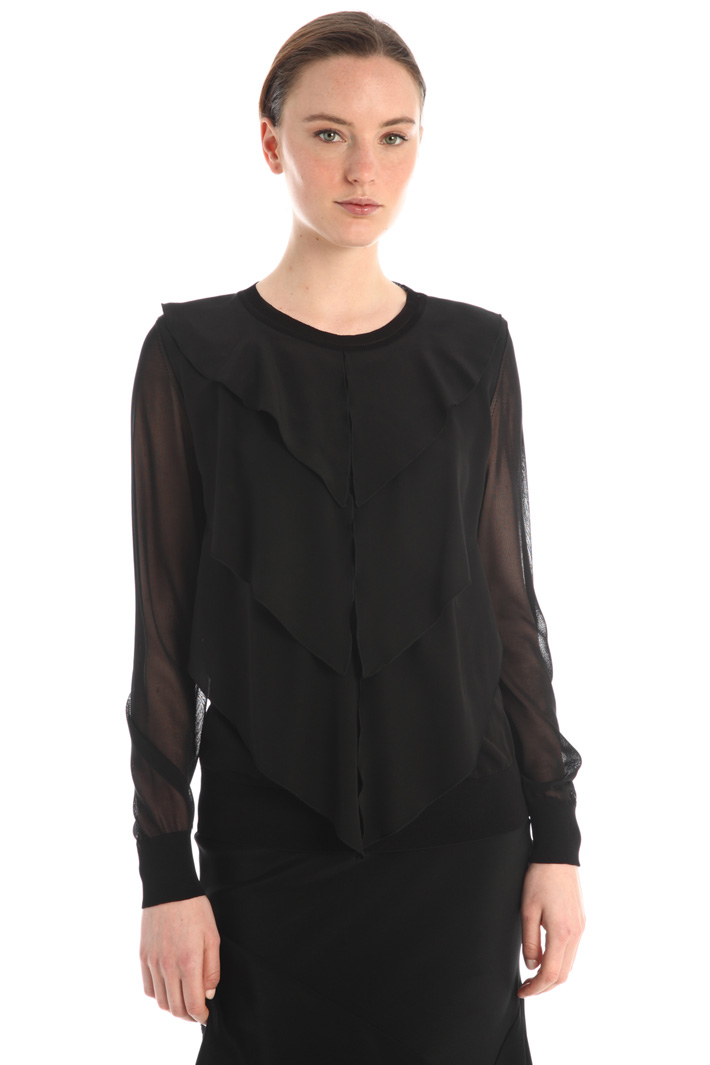 Silk sweater Intrend