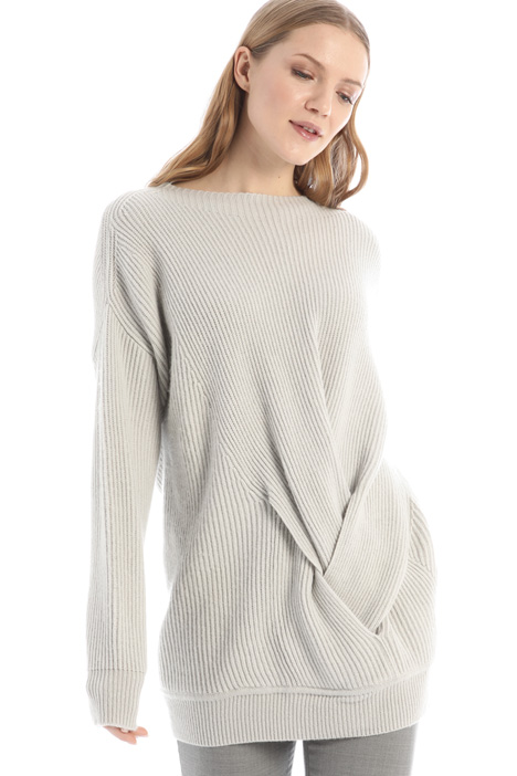 Braid detailed sweater Intrend