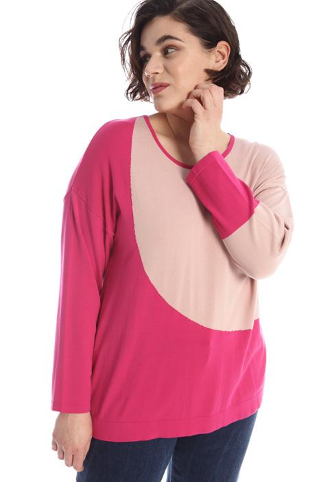 Yarn dyed viscose sweater Intrend
