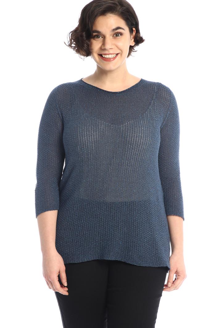Cotton lurex sweater Intrend