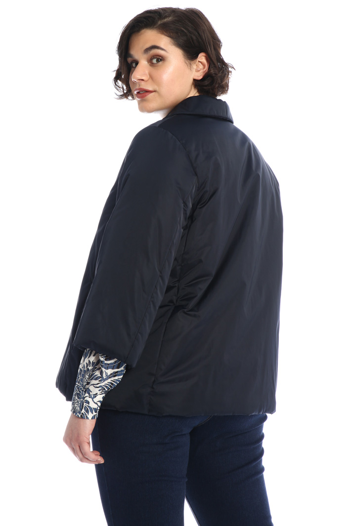 Padded jacket in satin Intrend