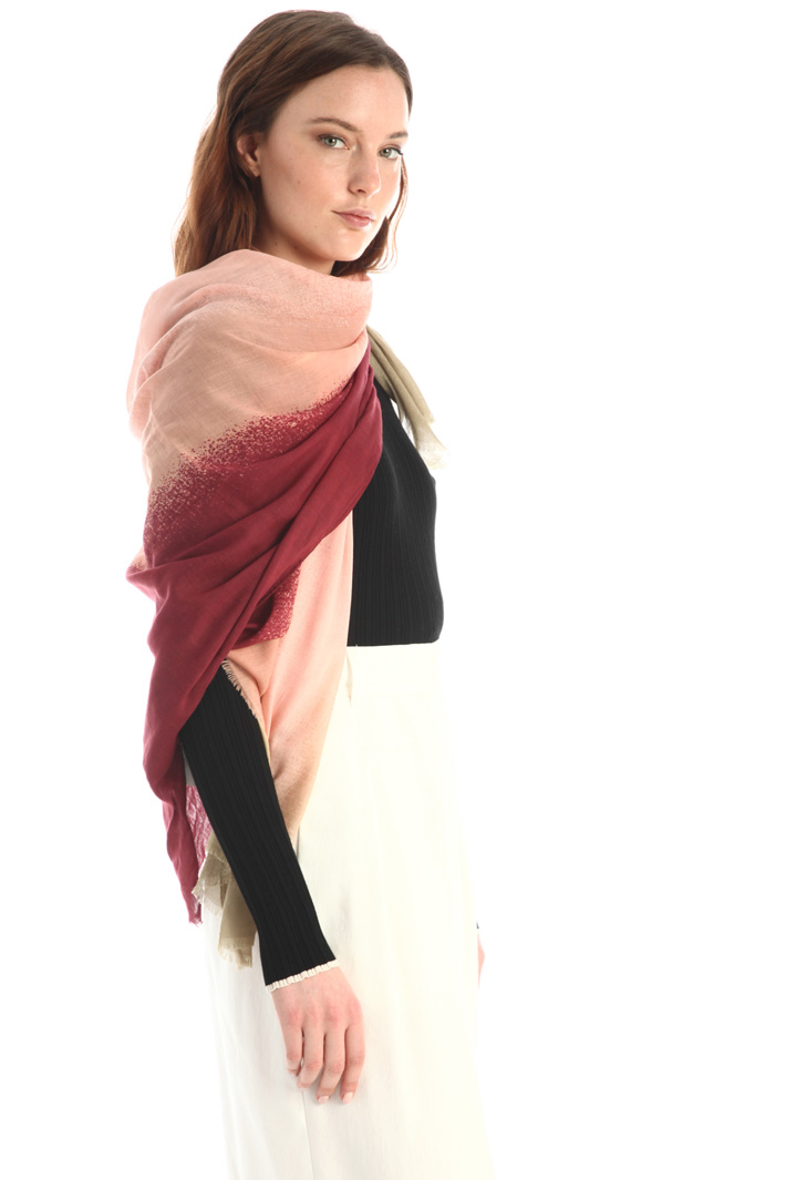 Printed cotton stole Intrend