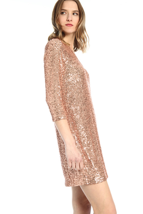 Short sequinned dress Intrend