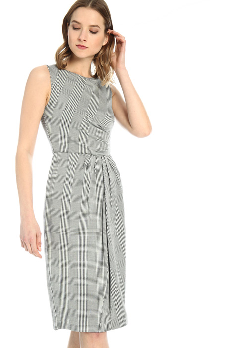 Viscose jersey sheath dress Intrend