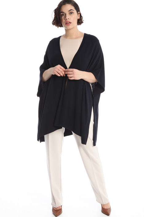 Viscose cape Intrend