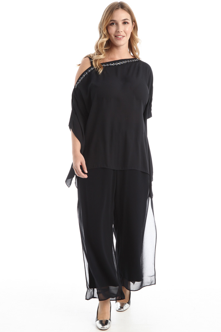 Embroidered tunic Intrend