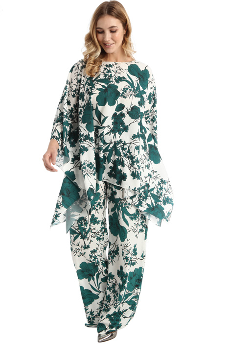 Printed crepe tunic Intrend